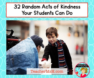 32 Random Acts of Kindness for Kids