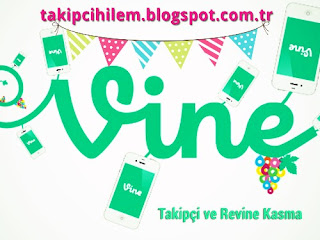 vine takipci ve revine