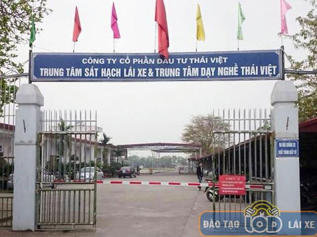 Trung tâm đào tạo sát hạch lái xe Thái Việt