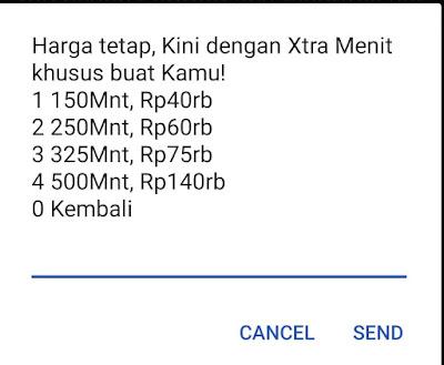 Paket Telepon ke Semua Operator dari XL - Blog Mas Hendra