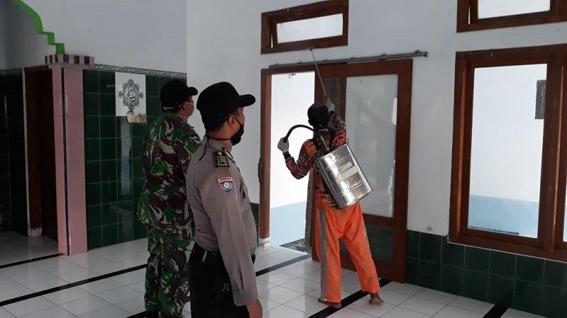 Penyemprotan Disinfektan Serentak, dari Jabar untuk Indonesia Lawan COVID-19