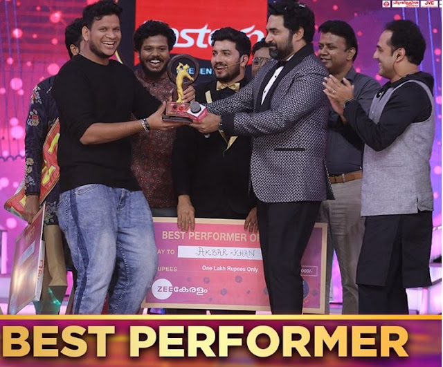 'Best Peformer of the season'-Akbar Khan