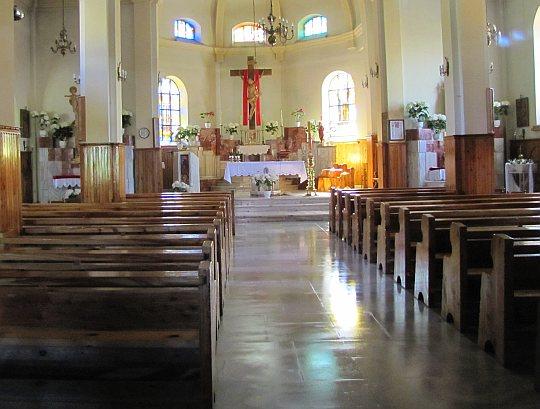 Dursztyn, Wnętrze kościółka pw. Jana Chrzciciela.