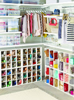 ideas para organizar el calzado vestidor femenino