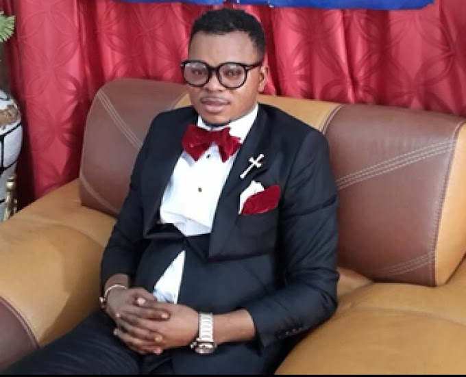 Video: Obinim flogs pregnant girl, boyfriend in church