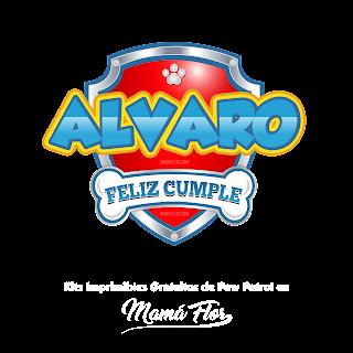 Logo de Paw Patrol: Álvaro