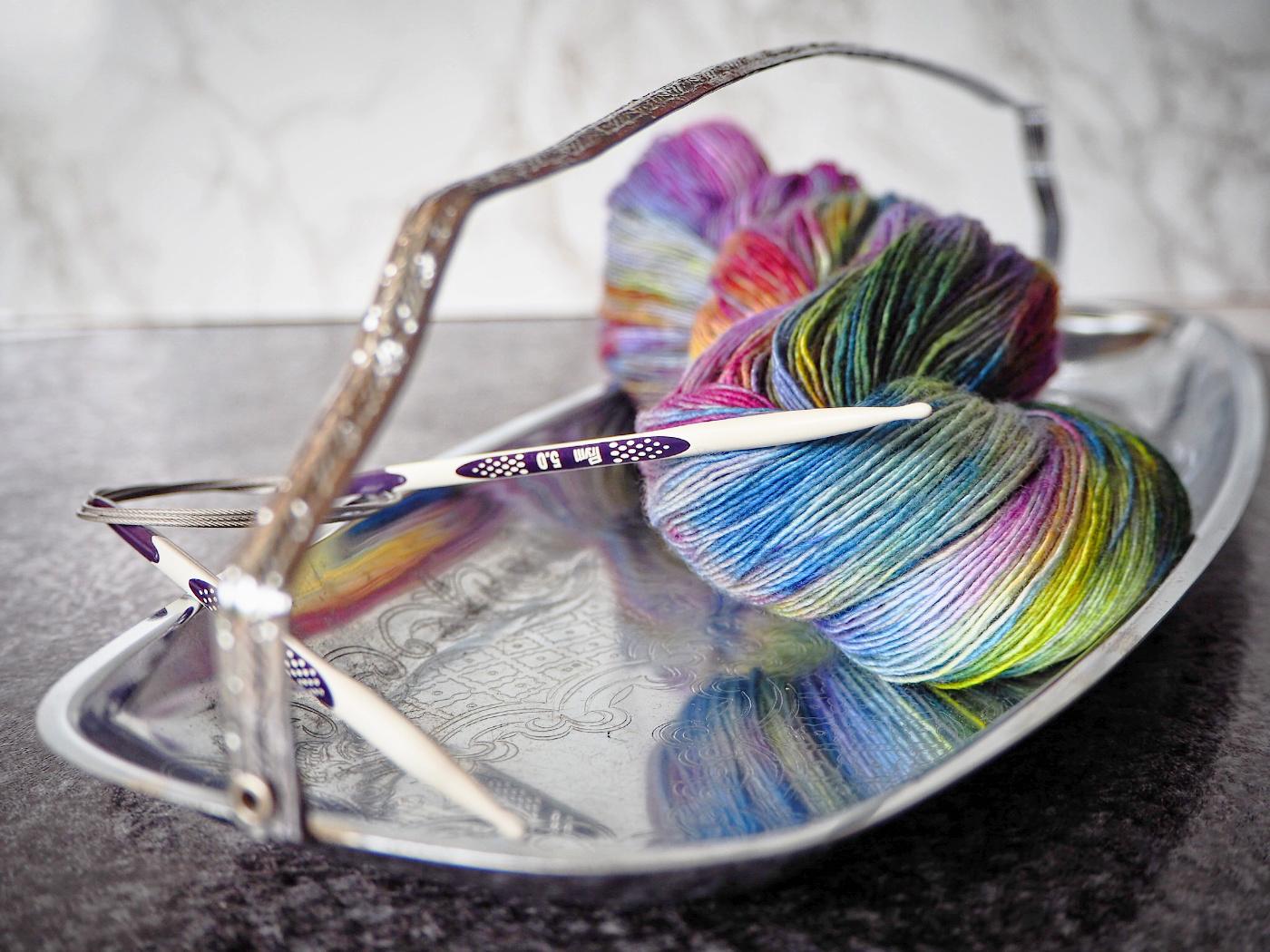 Prym Ergonomics handgefärbte Wolle