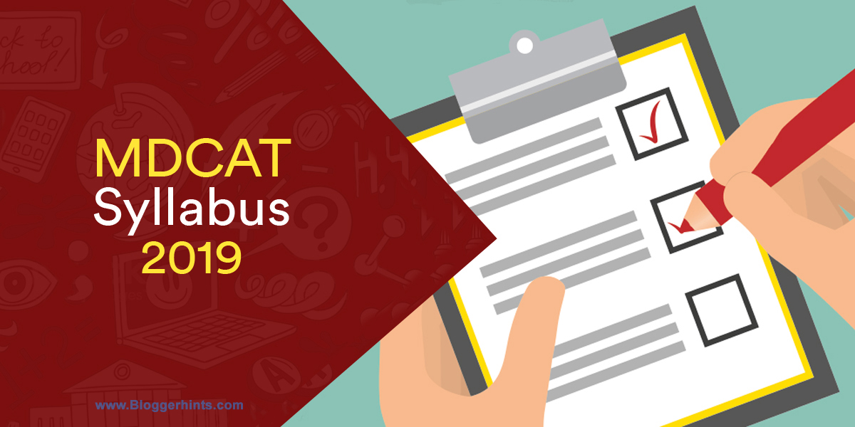 UHS MDCAT New Syllabus 2019 (OFFICIAL PDF Download