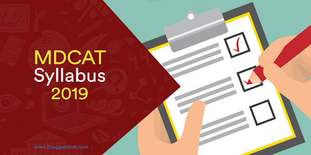 UHS MDCAT New  Syllabus 2019 (OFFICIAL PDF Download)