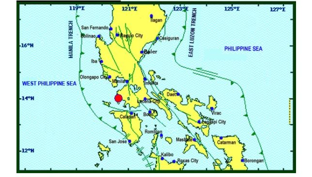 Magnitude 6.1 earthquake shakes Metro Manila, Luzon areas on August 11, 2017