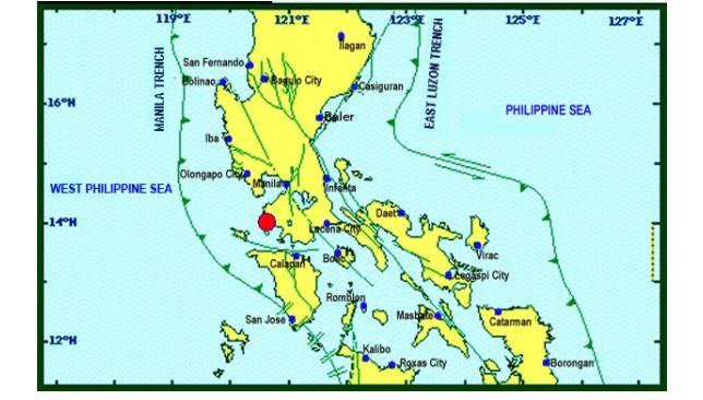 Magnitude 6.1 earthquake shakes Metro Manila, Luzon areas on August 11, 2017