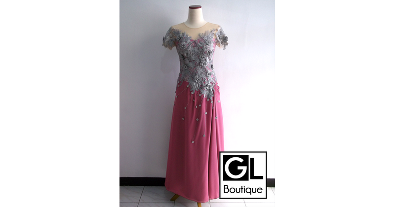 JUAL DRESS PESTA SIMPLE<br/>Cisaranten Wetan<br/>