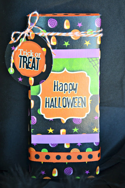 DIY Barre de Chocolat Façon Halloween | BirdsParty.fr