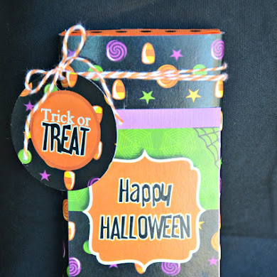 DIY Barre de Chocolat Façon Halloween