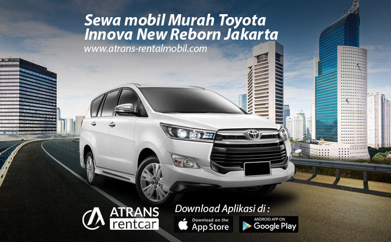 Rental mobil murah Toyota Innova New Reborn Jakarta