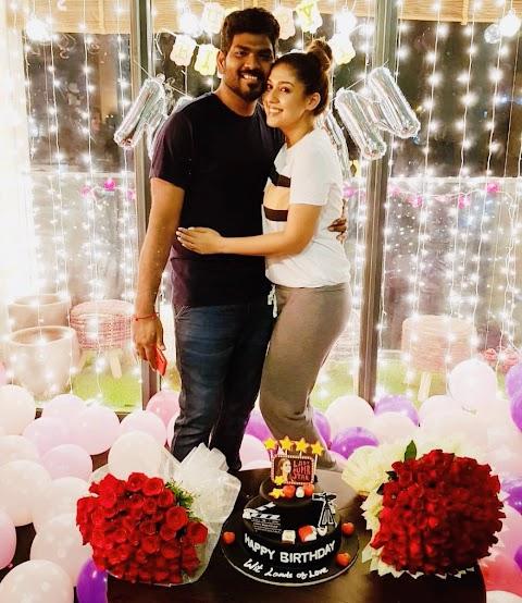 Nayanthara Birthday Bash with her Boyfriend