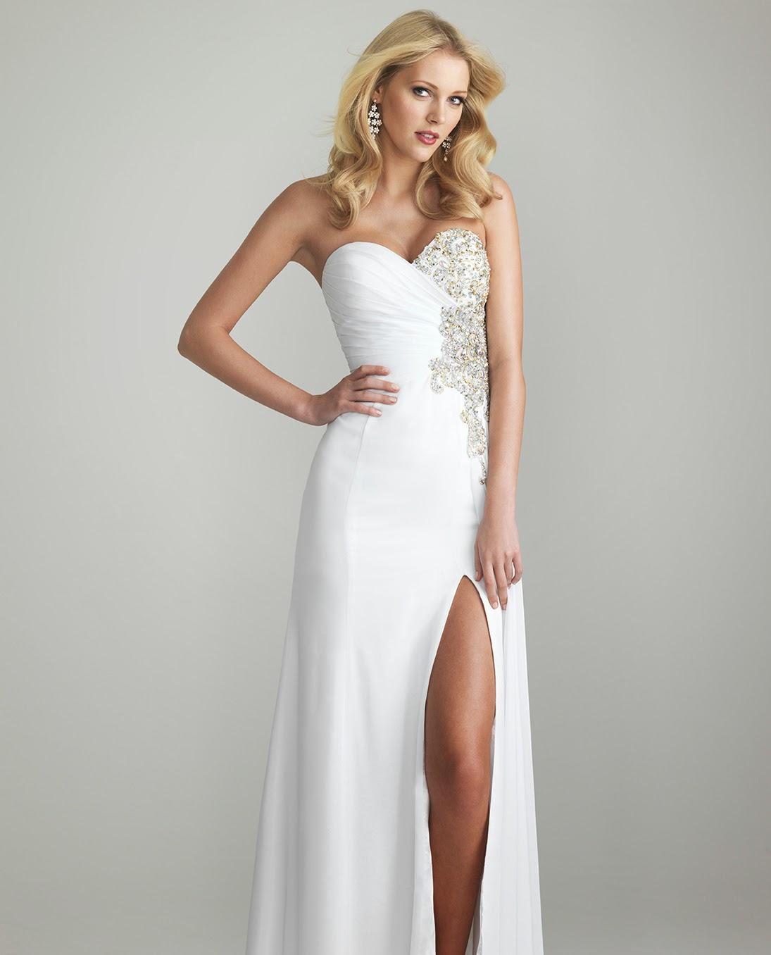 WhiteAzalea Prom Dresses: Beautiful White Prom Dresses