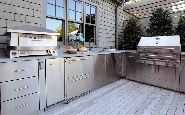 пристройка летней кухни к дому фото