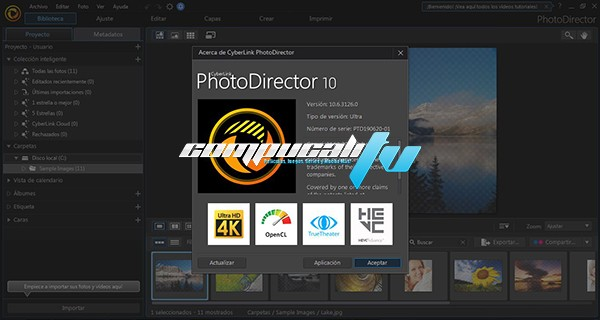 CyberLink PhotoDirector Ultra 10 Full Español