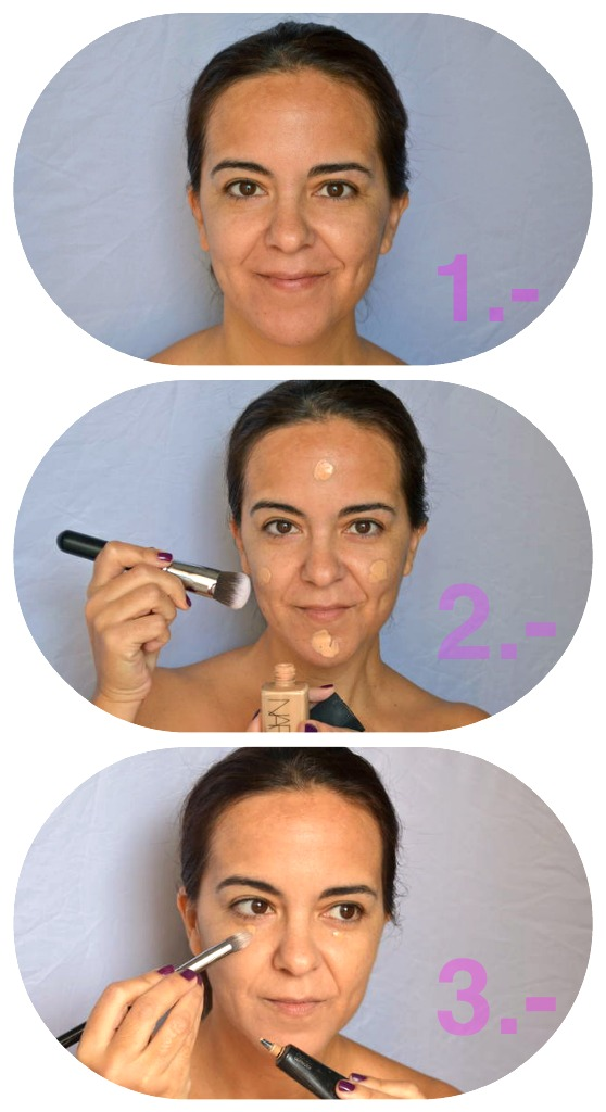 Tutorial_Daily_Make_Up_Sheer_Glow_Nars_F82_Sigma_Corrector_Deliplus_Acción_Global