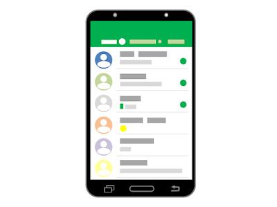 cara mengirim iMessages iPhone dari smartphone android
