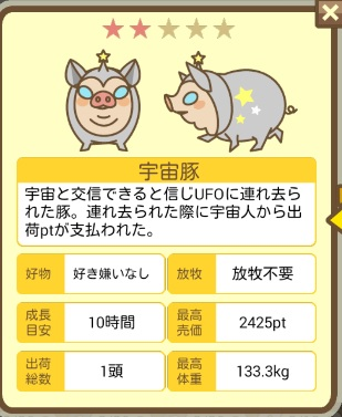養豚場ミックス 重力