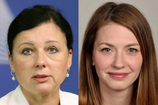 Cseh Katalin védi a cseh ügynököt, Vera Jourovát