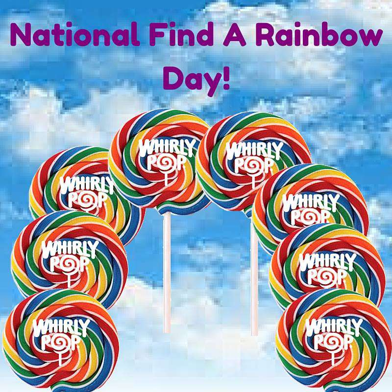 National Find a Rainbow Day Wishes for Whatsapp