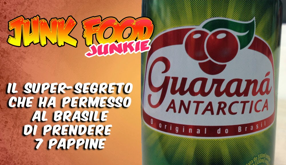 Guaraná Antarctica energy drink brasiliano