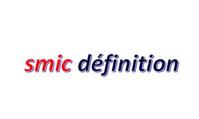 smic définition france