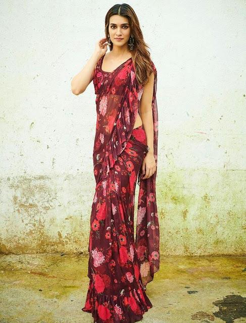 Kriti Sanon HD Wallpapers in Saree