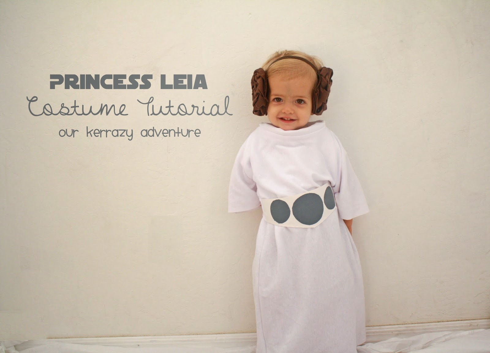 Princess Leia Costume Tutorial Our Kerrazy Adventure