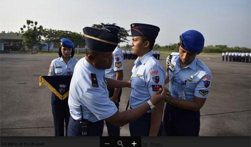Sumber Foto : Kepala Penerangan Danlanud Supadio