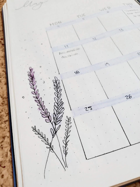 For this month's bujo theme I decided to try something a little different, mainly because I was getting tired of the old setups I had but also because May is my birth month and I wanted to do something special (My birthday is tomorrow if you're wondering).