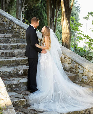 Tennis star Caroline Wozniacki's Wedding photos