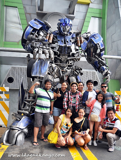 Optimus Prime at Universal Studios Singapore
