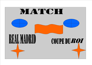 Le jour de match Barcelone vs  real Madrid coupe du roil