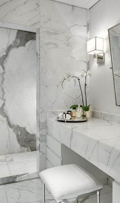 Marble Bathroom Design Ideas For Remodel