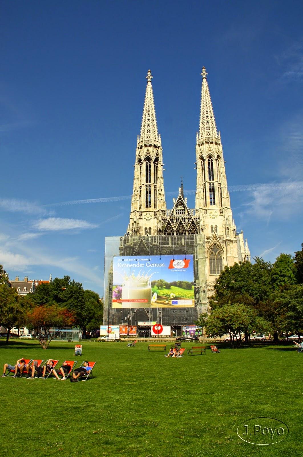 Iglesia Votiva, Votivkirche de Viena