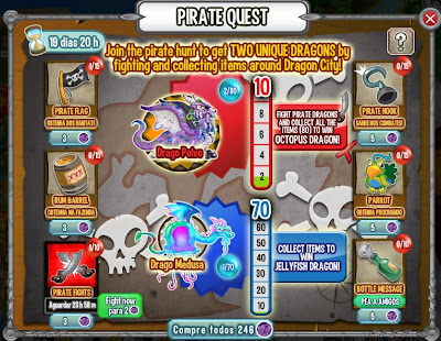 Evento - Pirate Island