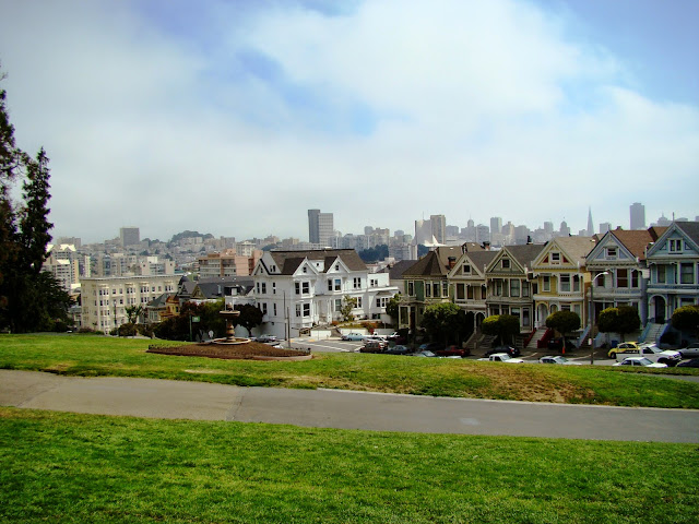 San Fransisco - California - USA - Alamo Square
