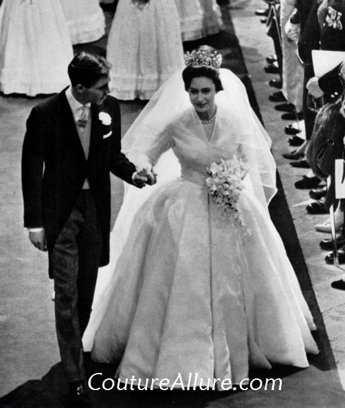 Weekend Eye Candy Norman Hartnell Wedding Gown 1960tsb