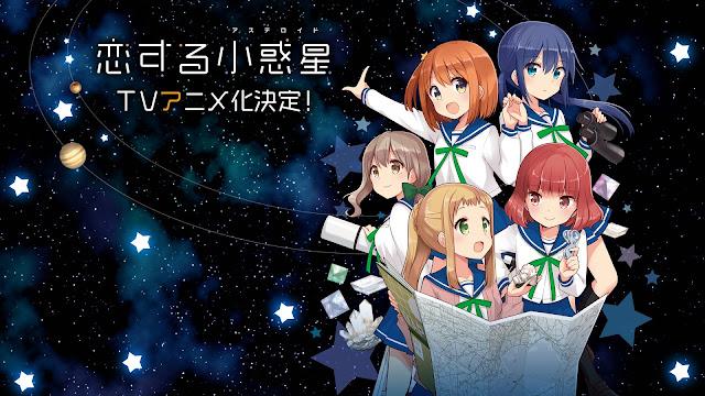 Anime 'Koisuru Asteroid' Mengungkap Teaser Visual dan Staf Utama
