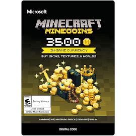 Minecraft Minecraft 3500 Minecoins Pack Media