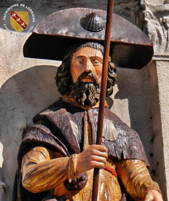 LUNEVILLE (54) - Statue de Saint-Jacques