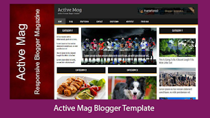Active Magazine Premium Responsive Blogger Template - Responsive Blogger Template