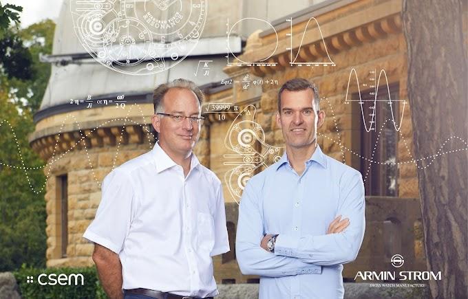 Armin Strom社、CSEM社の協力の元、Mirrored Force Resonanceを検証