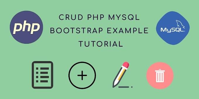 Crud Sederhana Plus Upload Image di Native PHP 7 dan MySQLi Webserver Apache