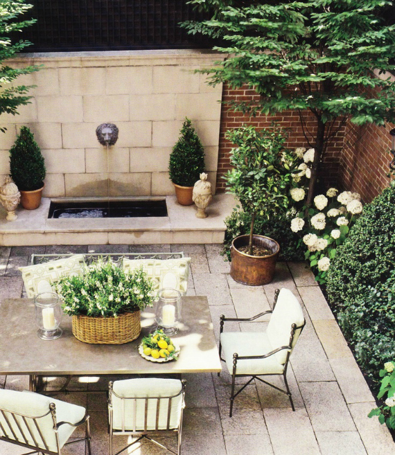 Beautiful Gorgeous Modern Garden Concept Idea With Bright: City Exteriors + Courtyards