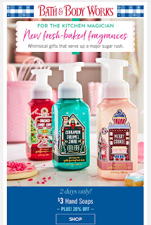 Bath & Body Works | Today's Email - December 5, 2019